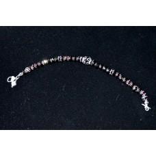 Black Lamp work bracelet