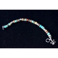 Aqua Jasper bracelet (Semi Precious)